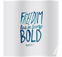 Robert Frost: Freedom Poster