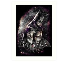 Batman Arkham City Art Print