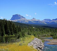 Chief Mountain Montana by Vickie Emms