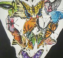 butterflies inside by Davariss