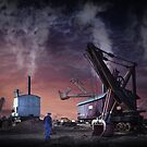 A dream of steam by Adrian Donoghue
