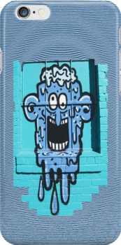 Graffiti Window Treatment by DAdeSimone