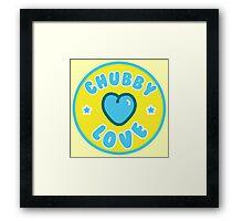 Chubby Love Framed Print