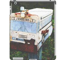 Old Rustic Schoolbus Mailbox  iPad Case/Skin