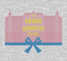 The Grand Budapest Hotel-minimal Kids Clothes