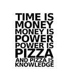 Time is money - parks and recreation quote by moonshine and lollipops