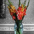 Gladiolus in Glass by Yampimon