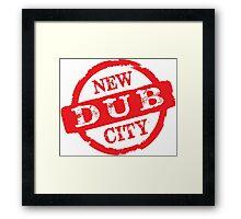 New Dub City Stamp Framed Print