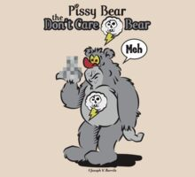 Pissy Bear the Don't Care Bear by barrileart