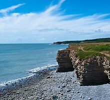 Llantwit Major Coastline by Sue Martin
