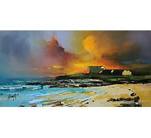 Isle of Barra hotel Photographic Print