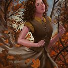 Spirit of Autumn Woman by martyee