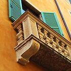 Verona's colourful house by dyanera