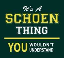 It's A SCHOEN thing, you wouldn't understand !! by satro