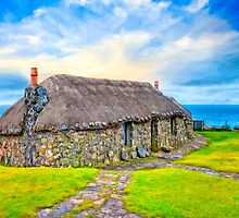 Wee Cottage On The Isle of Skye - Scottish Highlands by Mark Tisdale