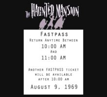 Haunted Mansion Fastpass Kids Clothes