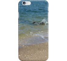Waves on the Long Island Sound iPhone Case/Skin