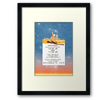 Thunder Mountain- Fastpass (#1) Framed Print
