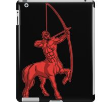 Red Centaur Aiming High T-Shirt by Cheerful Madness!! iPad Case/Skin