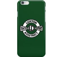 Luxton & District Traction Company Logo (On The Buses) iPhone Case/Skin
