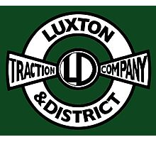 Luxton & District Traction Company Logo (On The Buses) Photographic Print