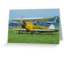 Arrow Sport A2-60 G-AARO Greeting Card