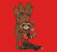 Groot + Raccoon Kids Clothes