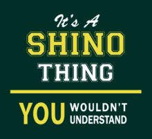 It's A SHINO thing, you wouldn't understand !! by satro