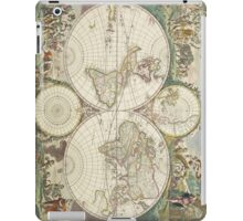 Vintage Map of The World (1680) iPad Case/Skin