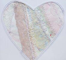 Heart valentine/birthday/wedding card by Rebecca  Lindsey