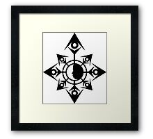 Chaos Is The Answer Framed Print
