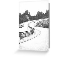 the Highway Greeting Card