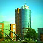 Hanseatic Trade Center (Hamburg) -tiltshift by OLIVER W