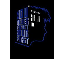You Never Forget Your First - Doctor Who 10 David Tennant Photographic Print