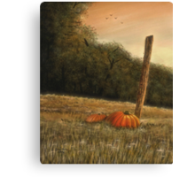 October in the South Canvas Print