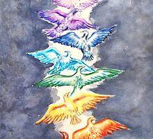 Bird Song Chakra by Chris Kfoury