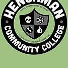 Henchman Community College by vonplatypus