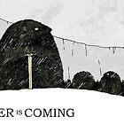 Winter is Coming Hedgehogs by djrbennett