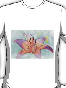 Lines of a Lily T-Shirt