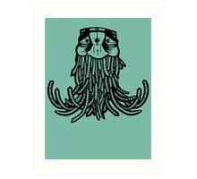 Swami hippy Art Print