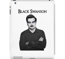 Black Swanson iPad Case/Skin