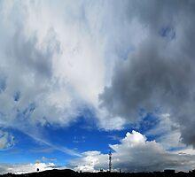 ©HCS Cumulonimbus Incus And Castellanus IA. by OmarHernandez