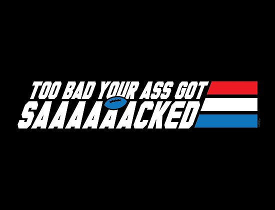 Too Bad Your Ass Got Sacked (NSFW) by mikehandyart