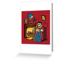 A Quiet Evening at Home Greeting Card