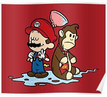 Mario and Kong Poster