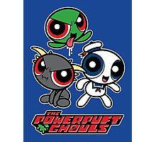 The Powerpuft Ghouls Photographic Print