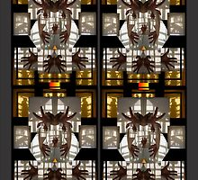 Stained glass clowns by Darryl Kravitz by dtaylork