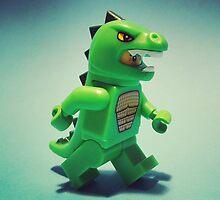 Godzilla Man by DannyboyH