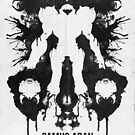 Samus Aran Metroid Geek Ink Blot Test by barrettbiggers