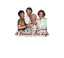 A Friend For Life Photographic Print